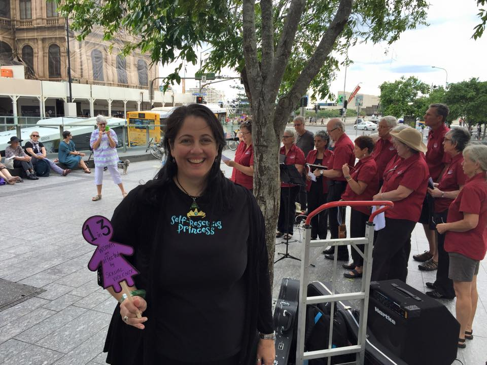 Elissa Jenkins - Wicked Campers - Wicked Pickets - Rally - Feminist