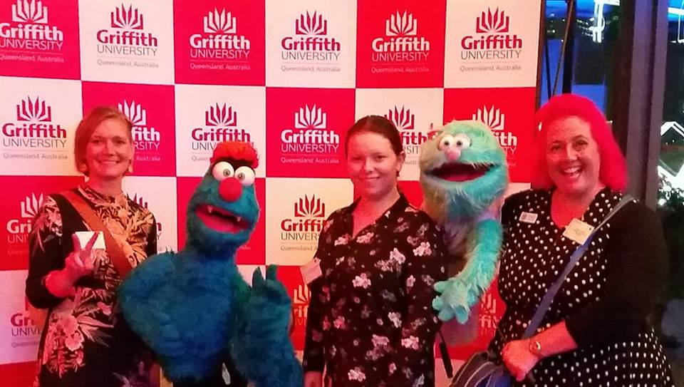 Pressing The Flesh And The Fur At Griffith Industry Mentoring's Celebration Event