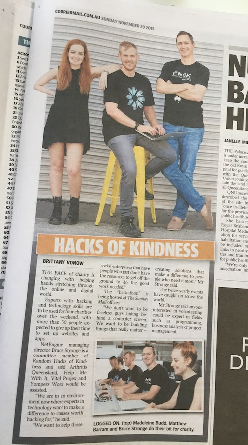 Random Hacks Of Kindness - Yompers Work